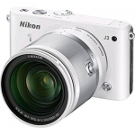 Nikon 1 J3 14.2MP Mirrorless Digital Camera w/ 10-100mm VR Lens, Refurbished $299