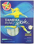 16-Ct Tampax Radiant Plastic Regular Absorbency Unscented Tampons $1.79 & More