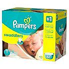 6-Pack Pampers Swaddlers Diapers Giant Pack for $210 + $85 Target Gift Card