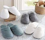 Pottery Barn Luxe Cozy Slippers $6.79