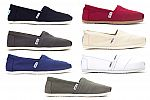 Toms Womens Classic Canvas $30 + Free Shipping