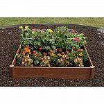 Greenland Gardener 42 in. x 42 in. Raised Bed Garden Kit $21.73