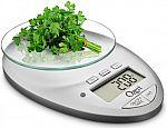 Ozeri Pro II Digital Kitchen Scale w/ Removable Glass & Countdown Timer $11.40