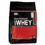 8 lbs Optimum Nutrition 100% Whey Gold Standard Powder $65