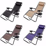 Zero Gravity Chair Recliner UtilityTray Pool (2 for $60)