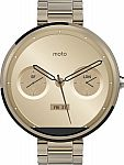 Moto 360 18mm Smartwatch for Select Android Devices $200