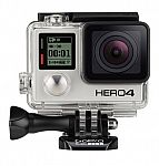 GoPro HERO4 Black 4K Action Camera Hero 4 Camcorder (CHDHX-401) $379