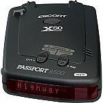 Escort Passport 8500X50 Black Radar Detector $180