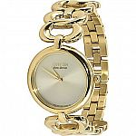 Citizen Women's Silhouette Eco Drive Gold Link Watch $85