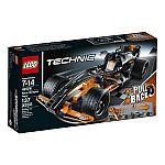 LEGO Technic 42026 Black Champion Racer Model Kit $13