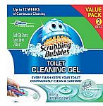 Scrubbing Bubbles Toilet Gel Rain Shower, 1 Dispenser and 12 Gel Stamps $4.82