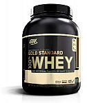 4.8 lb Optimum Nutrition Gold Standard 100% Whey, Chocolate $37.70