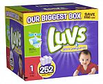 Luvs Ultra Leakguards Diaper Multipack $21 (for Amazon Mom Members)