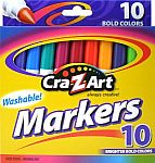 Cra-Z-art Bold Washable Markers, Box of 10 $0.50