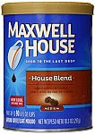 Maxwell House Ground Coffee, House Blend, 10.5 Ounce $1.65