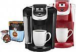 Keurig 2.0 K200 Coffeemaker + $15 Best Buy Giftcard + 48 K-Cups + 24 K-Carafe Pods $88