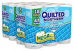 36-Ct Quilted Northern Ultra Soft & Strong Mega Roll Bath Tissue $16.24
