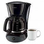 Mr. Coffee 12-Cup Switch Coffeemaker $15