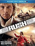 Rush on Blu-ray / DVD / Digital $5