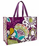 Vera Bradley Market Tote Bag in Plum Crazy $3.50 and more, Plus Extra 25% Off on $100