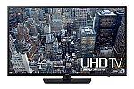 "Samsung UN55JU6400 55"" 4K Ultra HD 120MR Smart LED TV + $300 Dell Promo eGift Card $1098"