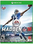 Free Copy of Madden NFL 16 for xbox one