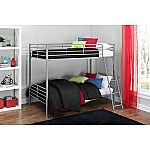 Mainstays Twin over Twin Convertible Bunk Bed $94 or Twin Metal Daybed Trundle $60