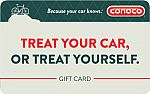 Gift Card Sale: Conoco Gas Gift Card, CVS, Sports Authority, Regal Cinema, Papa John's Pizza, Cabela's and more