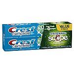 Crest Toothpaste Twin Pack from $2.74
