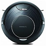 Moneual Hybrid Robotic Vacuum Cleaner, Multi-Surface, Black (RYDISH67PRO) $150