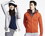 UNIQLO Sweat Long Sleeve Full-Zip Hoodie $19.90 + Free Shipping