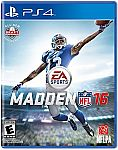 Madden NFL 16 (PS4, Xbox One) $40