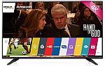 """LG 65UF7700 65"""" Trumotion 120 4K Smart LED UHD TV with WebOS $1200"""