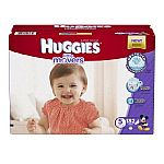 Huggies Little Movers Diapers (size 3-6, 174-104 Count) $23.45