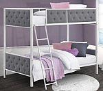 Chesterfield Upholstered Bunk Bed $250