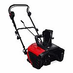"""18"""" 1600W 13 Amp Electric Snow Blower Thrower $120"""