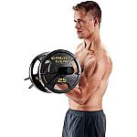 Gold's Gym 50 lb Olympic Plate Set $31
