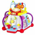 Baby Toy Musical Activity Cube Play Center with Lights $20 Shipped