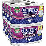Quilted Northern Ultra Plush Bath Tissue, 3-Ply, 48 Double Rolls $19