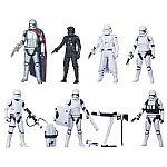 "7-Pack Star Wars 3.75"" First Order Legion Troops Figures $48"