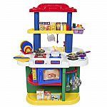 Deluxe Children Kitchen Cooking Pretend Play Set With Accessories $50
