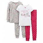 3x Carter's 4-pc Pajama Sets $15.83 Shipped & more (Kohls Card)