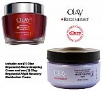 Olay Regenerist Micro-Sculpting Hydration + Night Recovery Cream $20