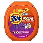 81-Load Tide PODS Spring Meadow HE Turbo Laundry Detergent Pacs for $15.23