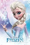 "24""x36"" Disney Frozen Elsa or Olaf Poster $1 and more + Free Shipping"