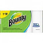 2X Bounty Select-A-Size White Paper Towels 8 Giant Rolls + $5 GC $20