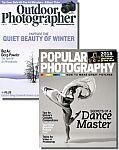 Popular Photography & Outdoor Photographer Bundle $8/yr