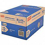 """Staples Multipurpose Paper, 8 1/2"""" x 11"""", Case $0.89 (AR - Staples iOS App required)"""