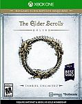 The Elder Scrolls Online: Tamriel Unlimited (Xbox One, Pre Owned) $3.99