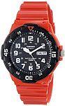 Casio Stainless Steel Watch (MRW-200HC-4BVCF) $10